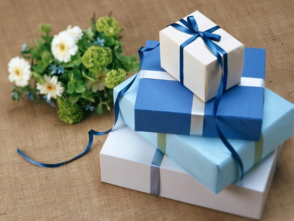 גדלים שונים של מתנות
